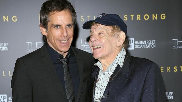 Morre o comediante Jerry Stiller, filho de Ben Stiller, aos 92 anos