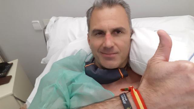 Javier Ortega Smith está internado trombosis a causa del coronavirus que padeció