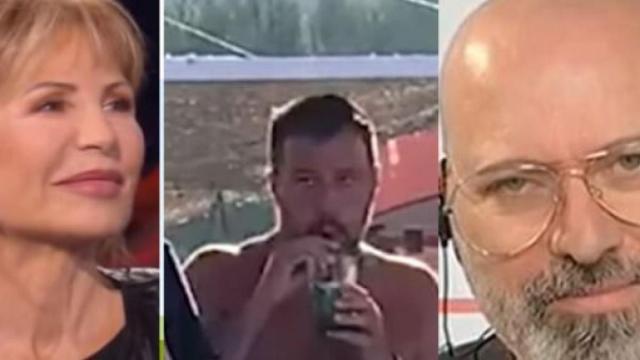 Otto e mezzo, Gruber chiede a Bonaccini se Salvini in estate potrà tornare al Papeete