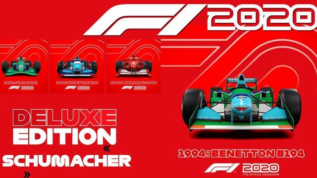 Com carros clássicos, game F1 2020 gama primeiros trailer