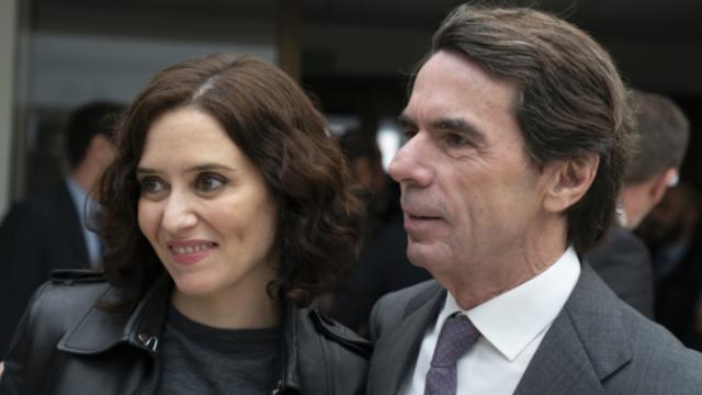 Aznar envidia a Isabel Díaz Ayuso por recibir insultos de 'los hijos de Chávez'