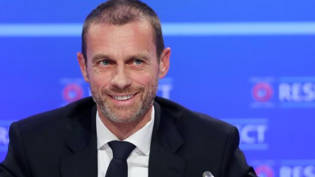 Uefa garante 'plano concreto' para terminar Liga dos Campeões no campo