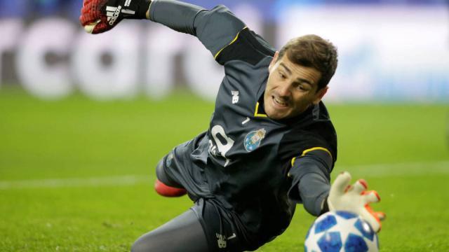 Iker Casillas, que juega al fútbol desde la infancia, cumple hoy 39 años
