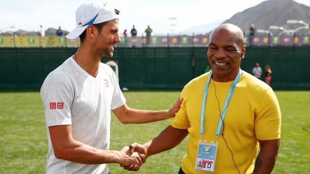 Mike Tyson: 'Federer il migliore di sempre, ma Djokovic è il mio tennista preferito'