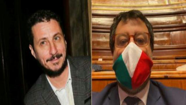 Bonafede, Luca Bizzarri critica senatore della Lega: 'Legge, ma ha un italiano stentato'