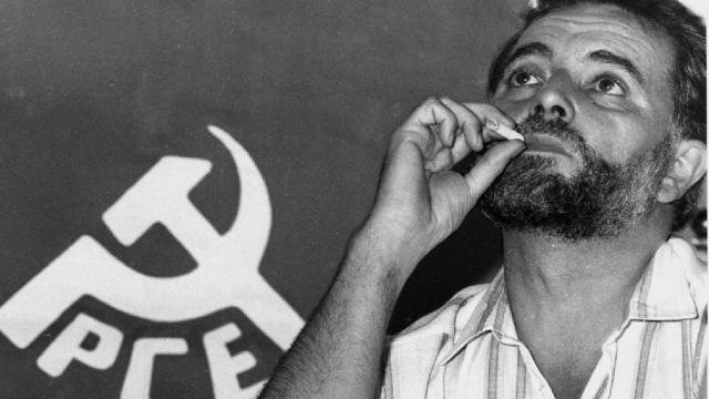 Pablo Iglesias y un viejo vídeo contra el fallecido Julio Anguita