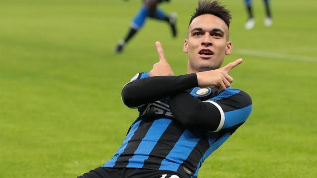 Lautaro Martínez, según el diario Olé, podría fichar por el Barça