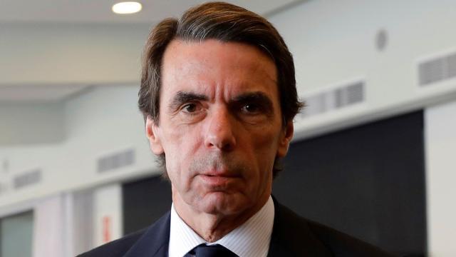 José María Aznar acusa a Pedro Sánchez de pactar: 'con los herederos de ETA'