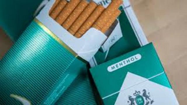 Les cigarettes menthol ne sont plus autorisées à la vente