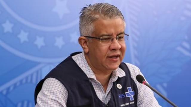 Wanderson de Oliveira deve deixar Ministério da Saúde nesta segunda-feira (25)