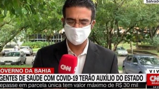 Durante transmissão ao vivo, jornalista da CNN Brasil abandona câmeras após ligação