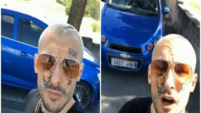 Roma, ritirata patente e sequestrata auto ad ex rapper: 'Ho preso il muro fratelli'