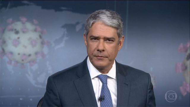 Rede Globo repudia campanha realizada contra o jornalista William Bonner