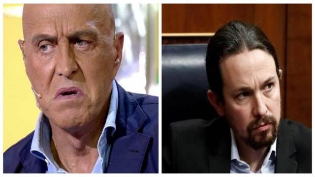 Kiko Matamoros defiende a VOX y descalifica a Pablo Iglesias