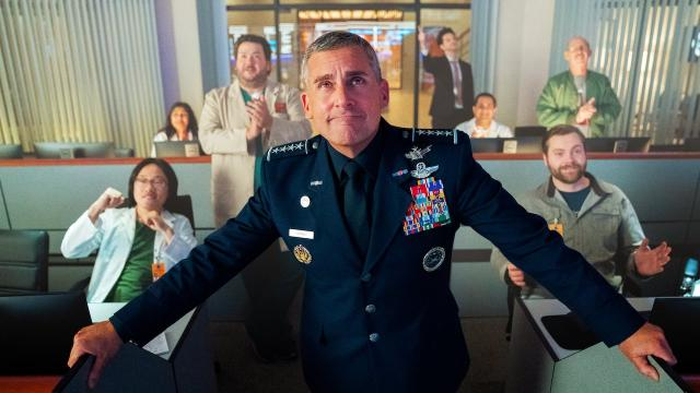 'Space Force' Netflix estreia a comédia