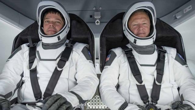 SpaceX, la missione spaziale Demo2 è partita: a bordo due astronauti americani