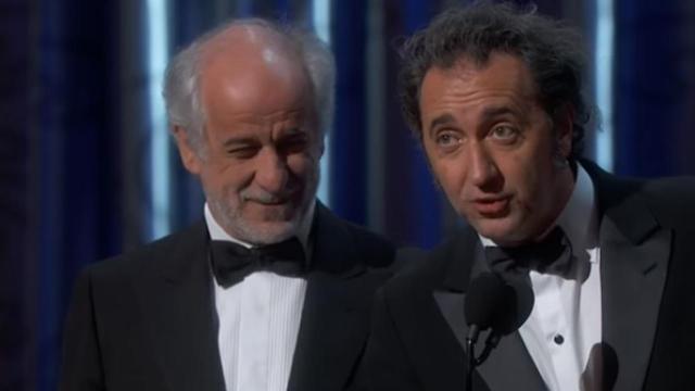 Paolo Sorrentino compie 50 anni, ha vinto l'Oscar con La grande bellezza