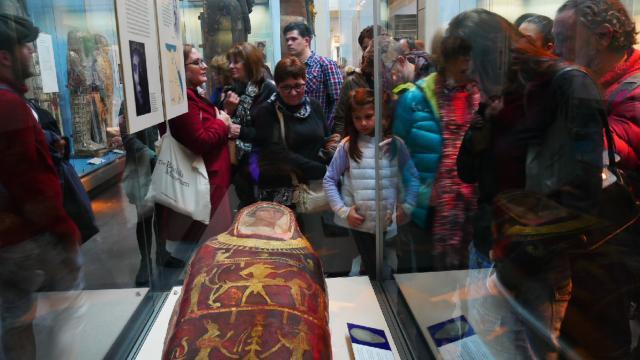 Fantasmas en el Museo Británico