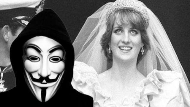 Anonymus dice que la realeza británica mató a Lady Di para ocultar casos de corrupción