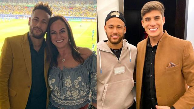 Vaza áudio de Neymar xingando o namorado da mãe, Nadine Gonçalves
