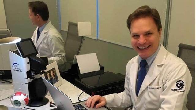 Com coronavírus, ex-polegar Alan Frank está internado na UTI