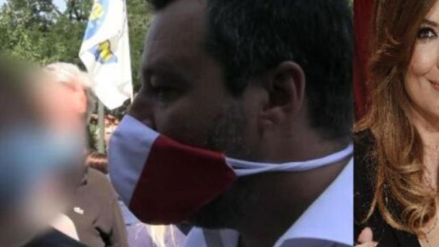 Salvini, il figlio di Selvaggia Lucarelli lo critica in strada a Milano