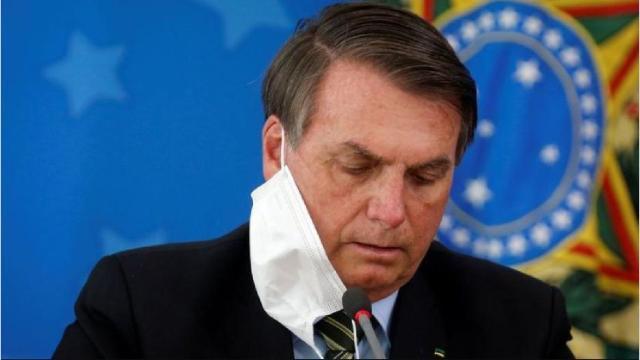 Brasil espera los resultados del test de COVID-19 del presidente Bolsonaro