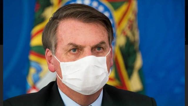 Presidente Jair Bolsonaro testa positivo para novo coronavírus