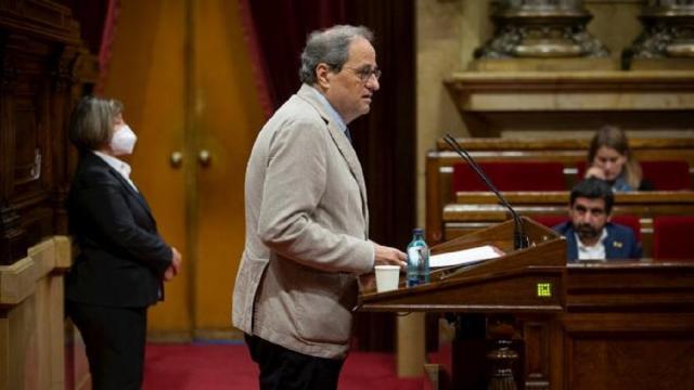 Torra culpa al gobierno de Pedro Sánchez por el rebrote del COVID-19 en Catalunya