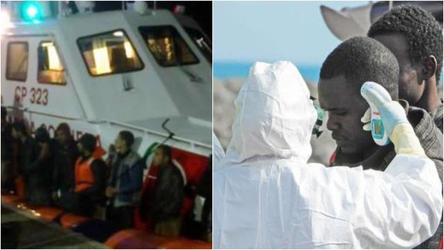 Covid-19, 28 migranti su 70 sbarcati il 10 luglio a Roccella Jonica positivi