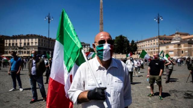 Italia estudia endurecer las medidas de contención ante rebrotes de coronavirus