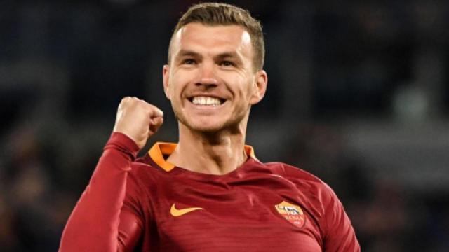 Inter, Dzeko della Roma potrebbe essere il vice Lukaku: possibile scambio con Vecino