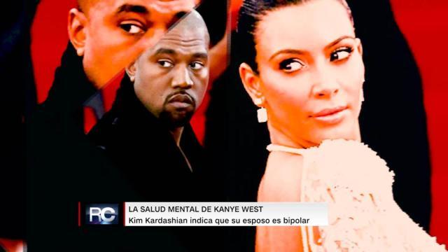 Kanye West padece una enfermedad psiquiátrica segun Kim Kardashian