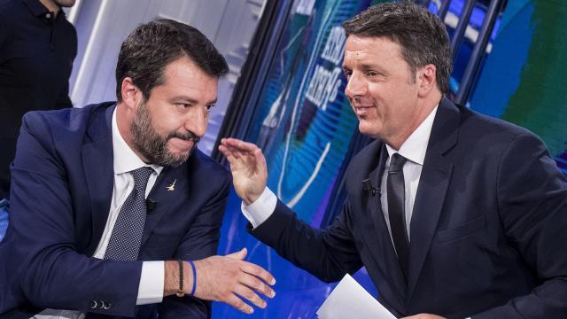 Renzi su Salvini: 'più che dai giudici dovrebbe essere salvato da se stesso'