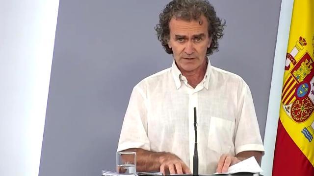 'Monsieur Covid', el mote del diario belga Le Soir a Fernando Simón