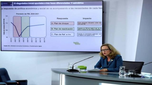 El Instituto Nacional de Estadística (INE) confirma la caída del PIB en España