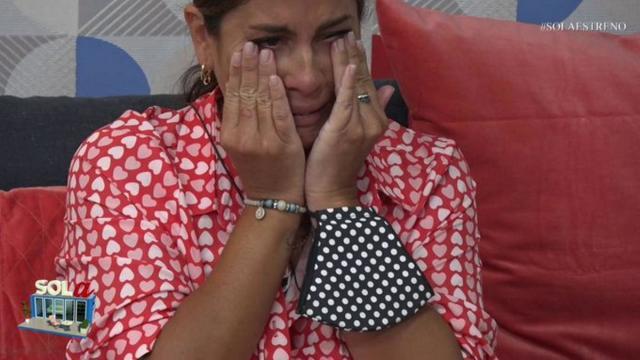 Anabel Pantoja ya está en 'Sola', lloros y quejas en las primeras horas