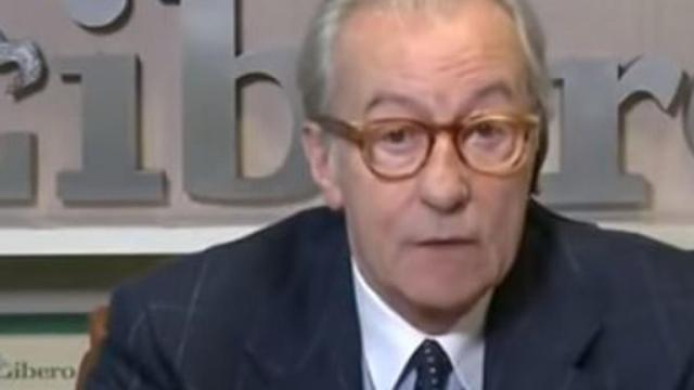 Vittorio Feltri contro la magistratura: 'È al servizio della sinistra'