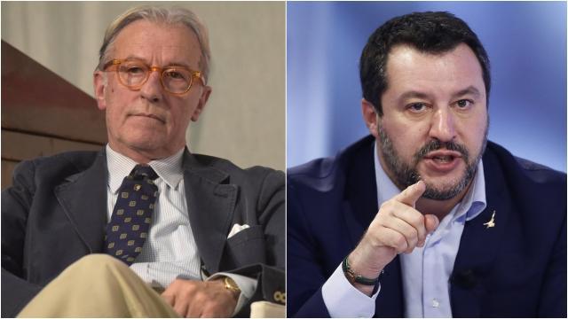 Vittorio Feltri dalla parte di Salvini: 'La magistratura accusa la Lega di tutto'