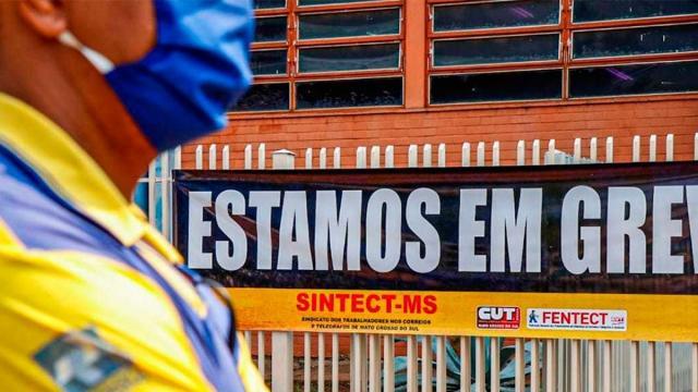 Completando um mês, greve dos Correios será julgada na próxima segunda-feira