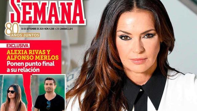 Exclusiva de Olga Moreno en 'Semana' contando como está su matrimonio
