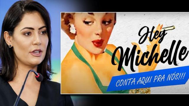 Detonautas vira alvo de Michelle Bolsonaro e assessores por 'Micheque'