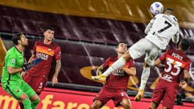 Le but de la tête de Cristiano Ronaldo contre la Roma fait encore le tour du monde
