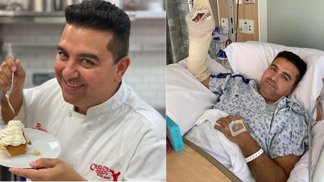 Buddy Valastro comenta sobre acidente que mutilou sua mão: 'surreal'
