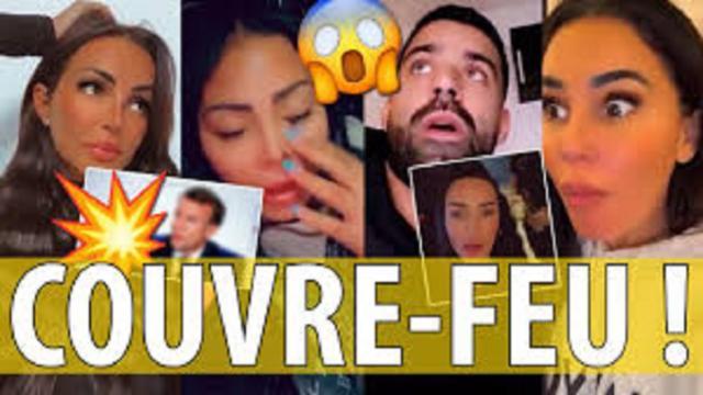 Raphaël Pépin, Milla, Fidji et Maeva réagissent au couvre-feu imposé par Macron