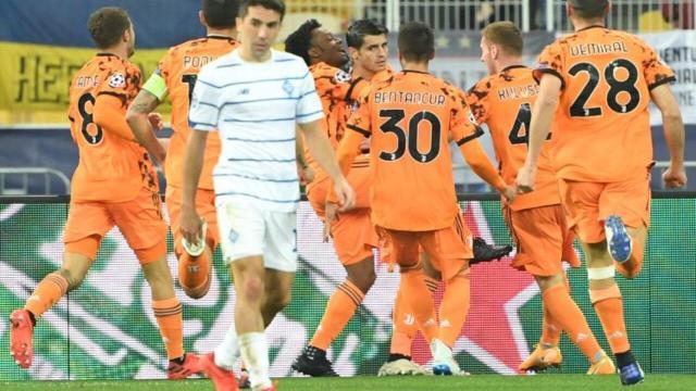 Champions League, Dinamo Kiev-Juve finisce 0-2: Morata sigla la doppietta