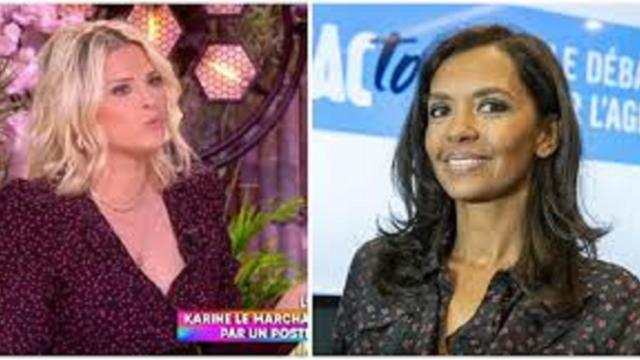 Kelly Vedovelli traite Karine Le Marchand d''hypocrite'