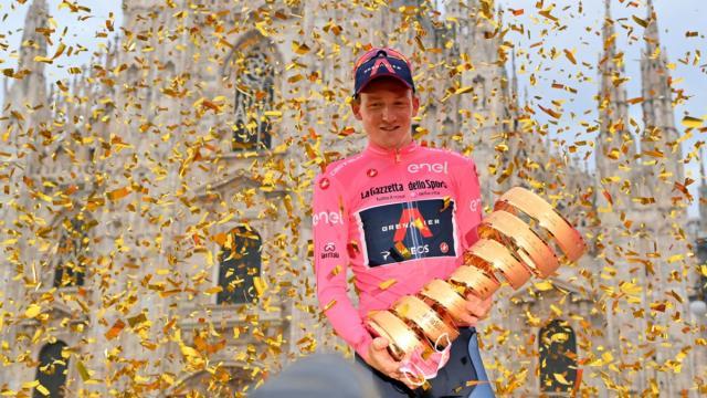 Geoghegan Hart ha vinto il 103° Giro d'Italia