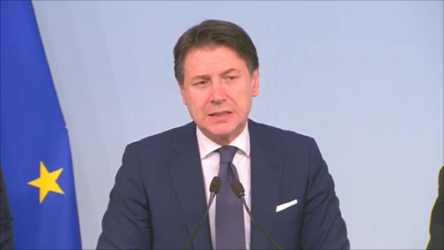 Conte sul caso Calabria: 'Mi assumo la responsabilità della scelta di Gaudio'