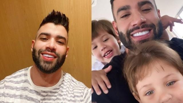 Gusttavo Lima aparece no Instagram ao lado dos filhos pela primeira vez após separação